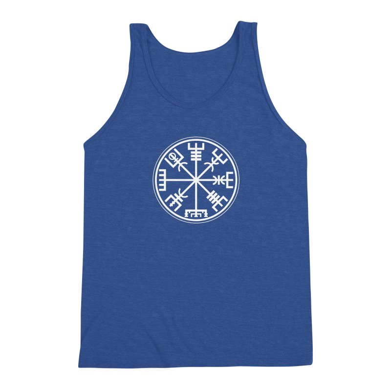 "Vegvisir ""That Which Shows the Way"" Viking Symbol Men's Tank by Mandragora Magika"