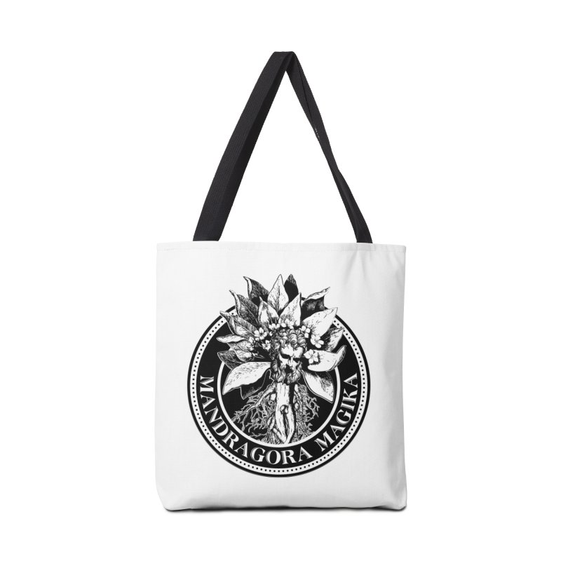 Mandragora Magika Logo Accessories Tote Bag Bag by Mandragora Magika