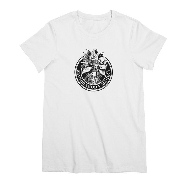Mandragora Magika Logo Women's Premium T-Shirt by Mandragora Magika