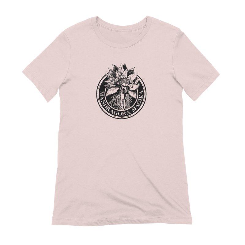 Mandragora Magika Logo Women's Extra Soft T-Shirt by Mandragora Magika