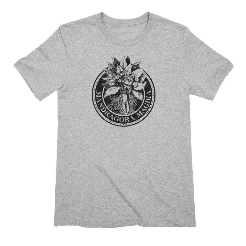 Mandragora Magika Logo Men's Extra Soft T-Shirt by Mandragora Magika