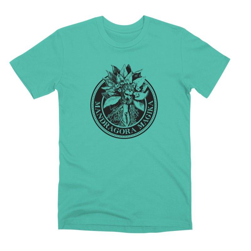 Mandragora Magika Logo Men's Premium T-Shirt by Mandragora Magika