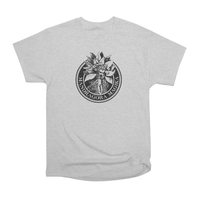 Mandragora Magika Logo Men's Heavyweight T-Shirt by Mandragora Magika