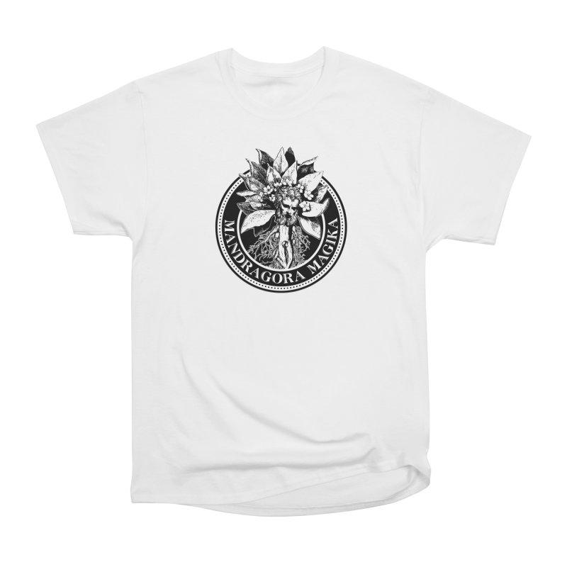 Mandragora Magika Logo Women's Heavyweight Unisex T-Shirt by Mandragora Magika