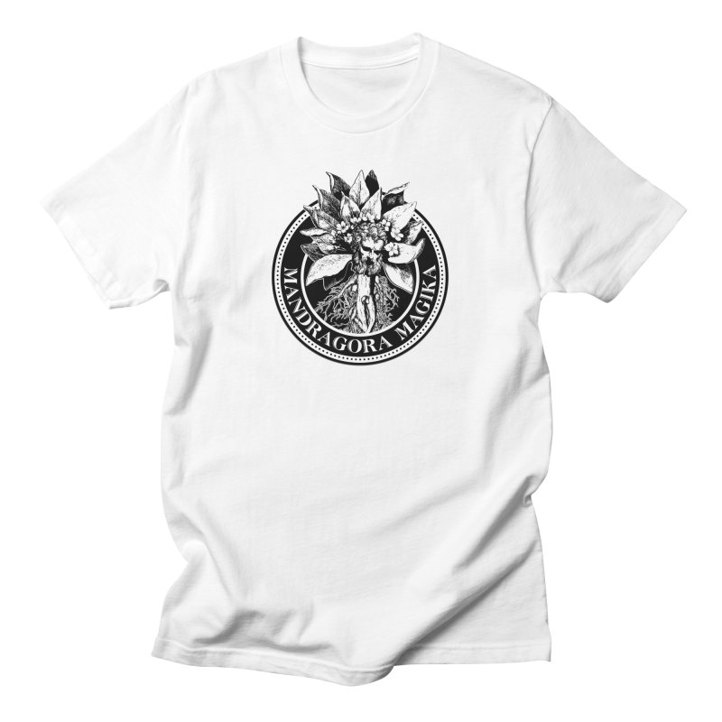 Mandragora Magika Logo Men's Regular T-Shirt by Mandragora Magika