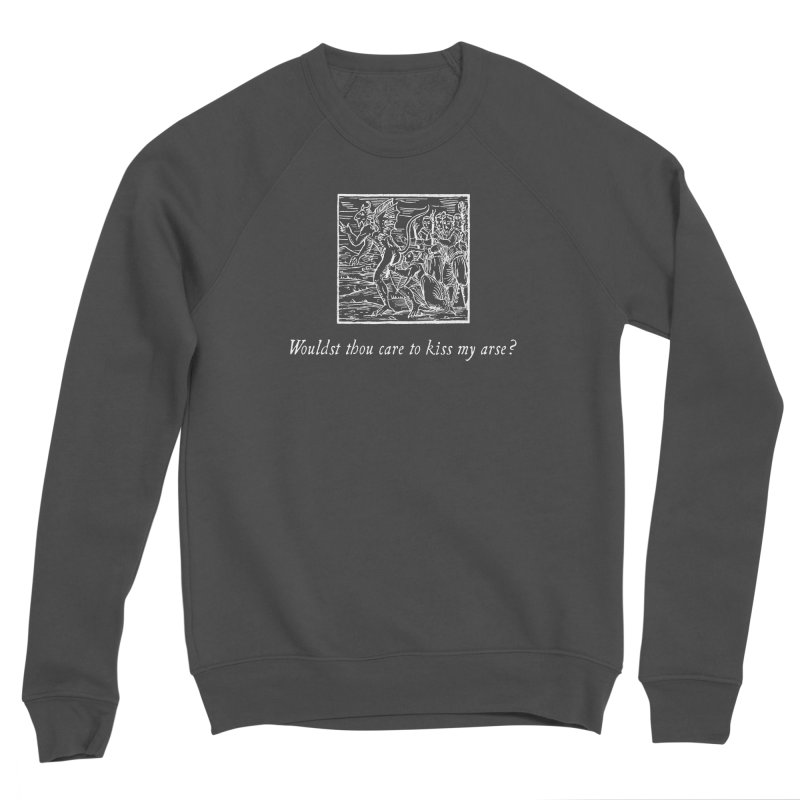 Osculum Infame: The Shameful Kiss Men's Sponge Fleece Sweatshirt by Mandragora Magika