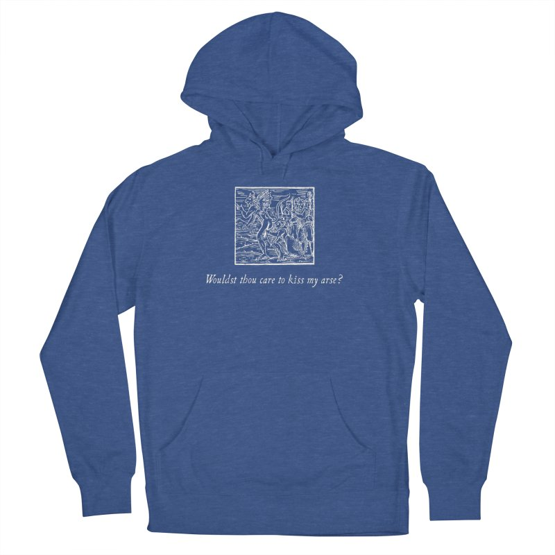 Osculum Infame: The Shameful Kiss Women's French Terry Pullover Hoody by Mandragora Magika