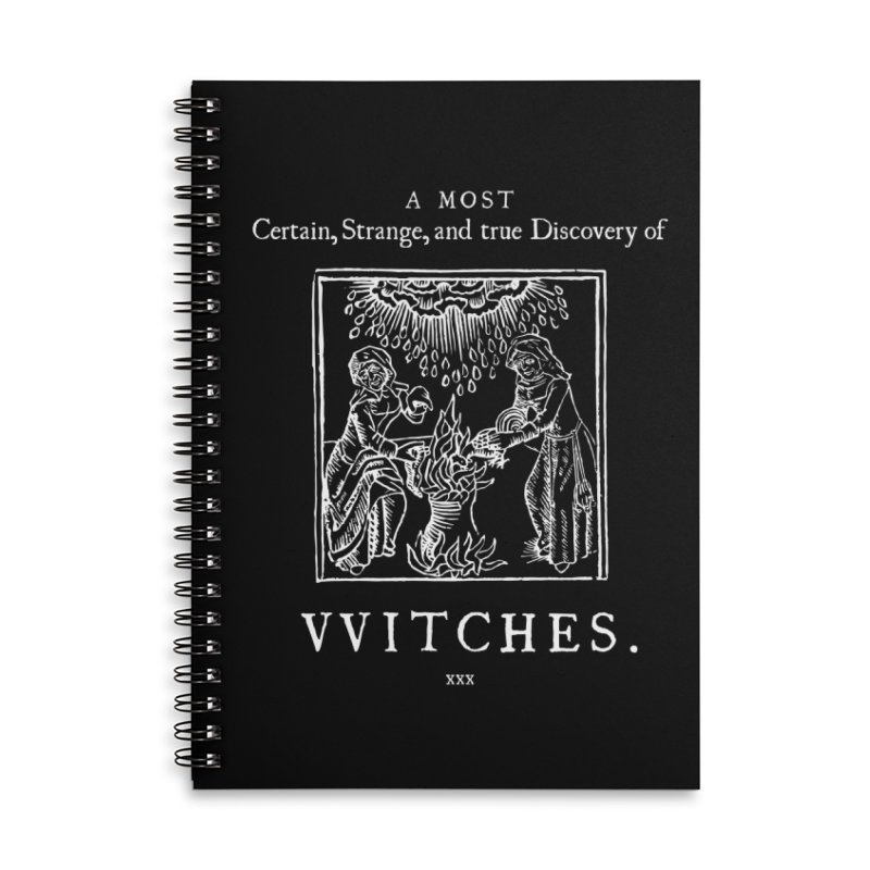 VVITCHES. Accessories Lined Spiral Notebook by Mandragora Magika
