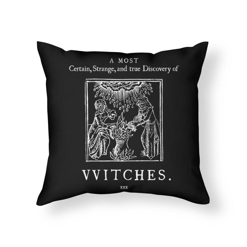 VVITCHES. Home Throw Pillow by Mandragora Magika