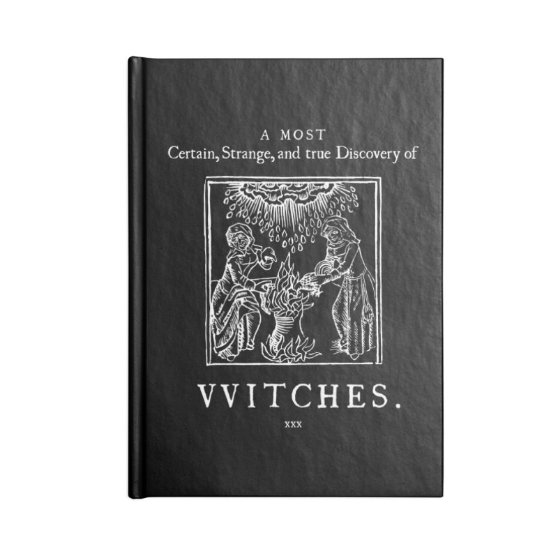 VVITCHES. Accessories Lined Journal Notebook by Mandragora Magika