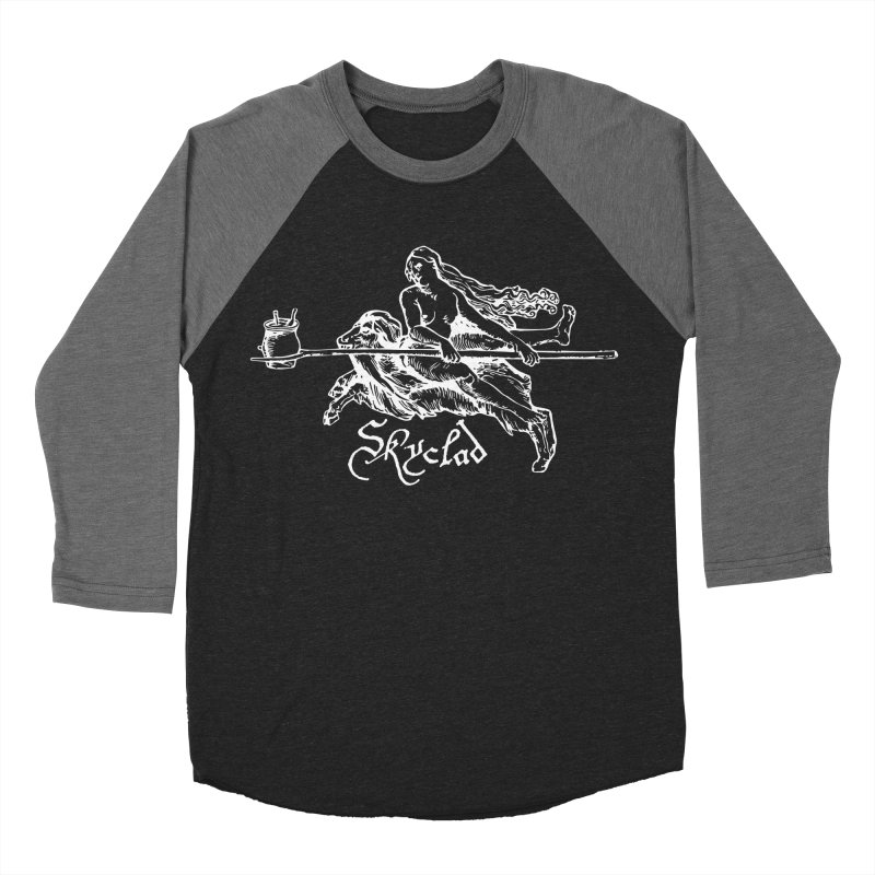 Skyclad Women's Baseball Triblend Longsleeve T-Shirt by Mandragora Magika