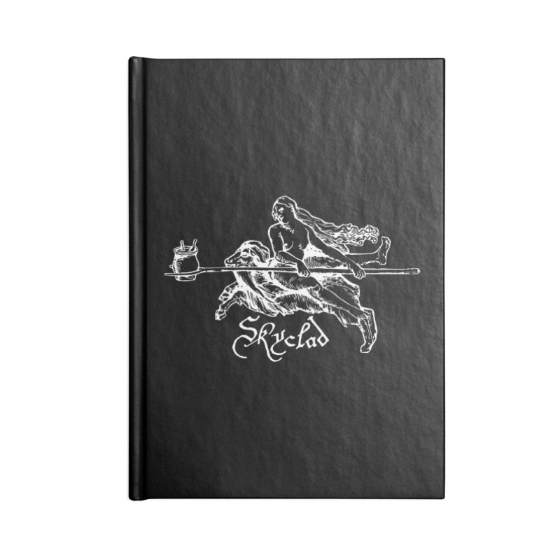 Skyclad Accessories Blank Journal Notebook by Mandragora Magika