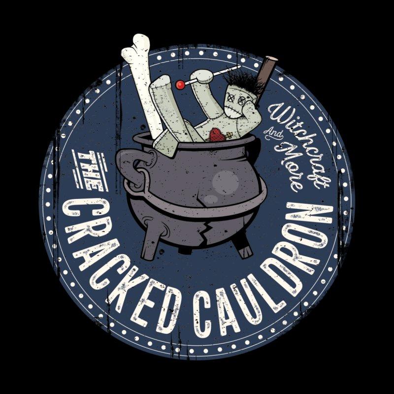 The Cracked Cauldron Men's Zip-Up Hoody by Mandragora Magika