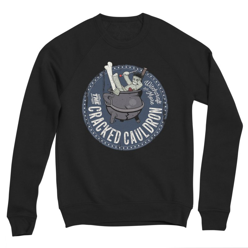 The Cracked Cauldron Men's Sponge Fleece Sweatshirt by Mandragora Magika