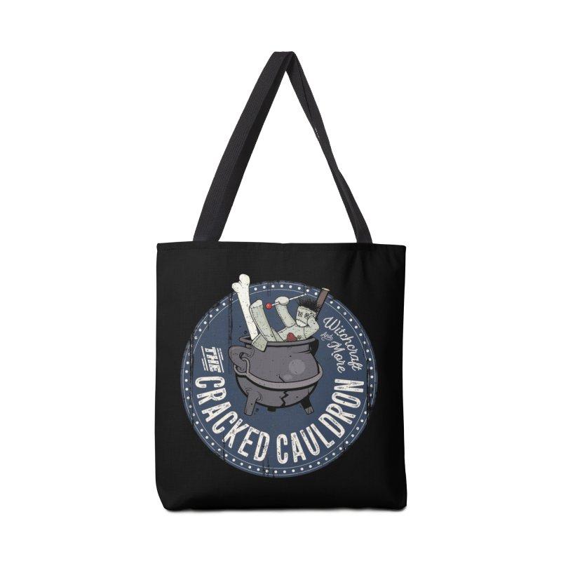 The Cracked Cauldron Accessories Tote Bag Bag by Mandragora Magika