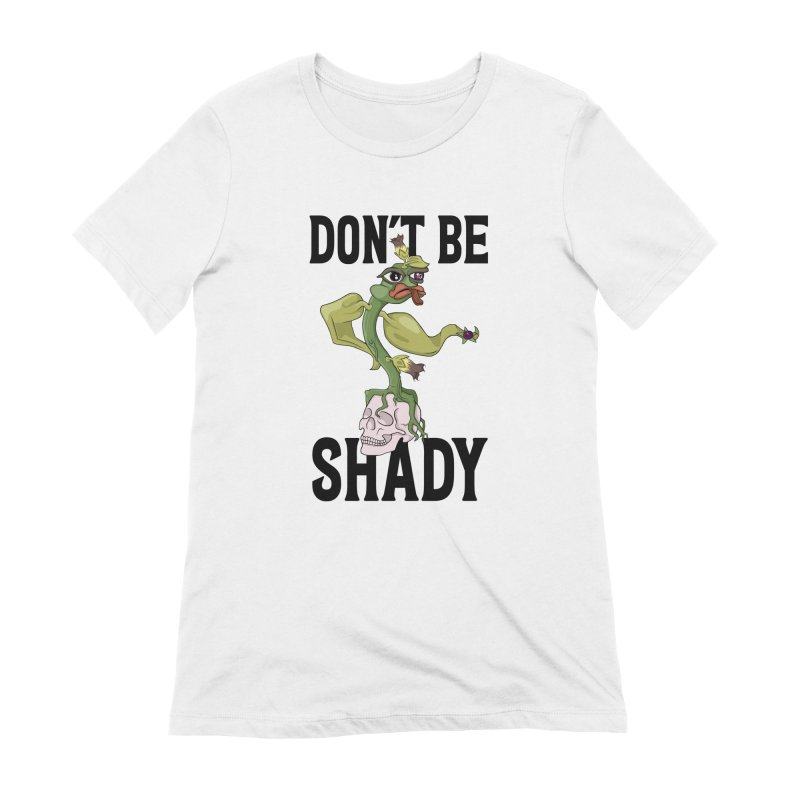 Don't Be Shady - Deadly Nightshade Women's Extra Soft T-Shirt by Mandragora Magika