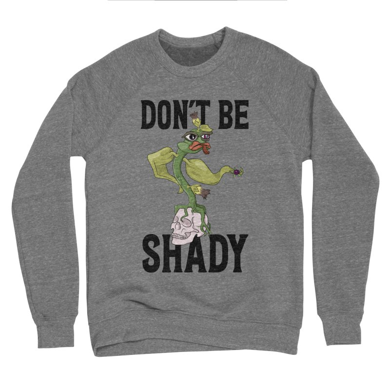 Don't Be Shady - Deadly Nightshade Men's Sponge Fleece Sweatshirt by Mandragora Magika