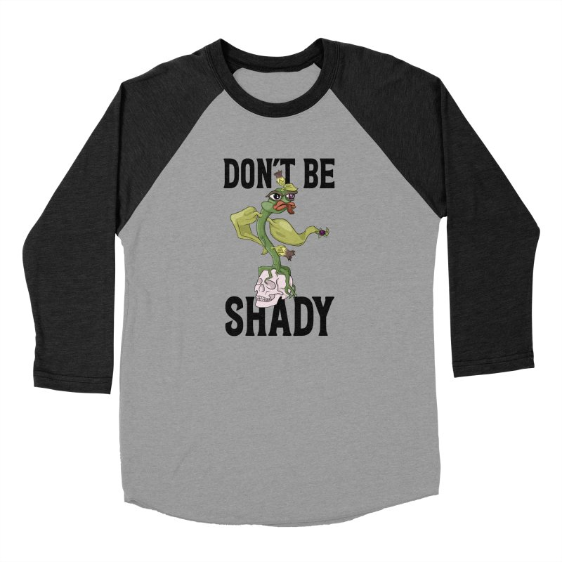 Don't Be Shady - Deadly Nightshade Women's Baseball Triblend Longsleeve T-Shirt by Mandragora Magika
