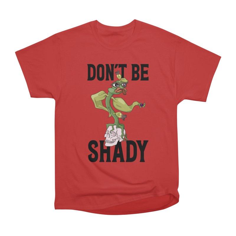 Don't Be Shady - Deadly Nightshade Men's Heavyweight T-Shirt by Mandragora Magika