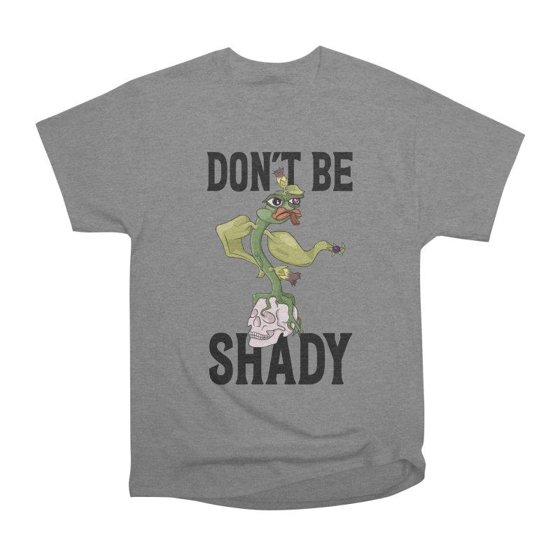 Don't Be Shady - Deadly Nightshade Women's Heavyweight Unisex T-Shirt by Mandragora Magika