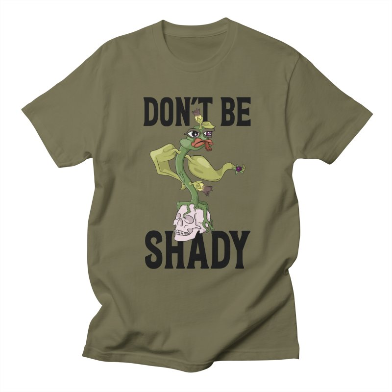 Don't Be Shady - Deadly Nightshade Women's Regular Unisex T-Shirt by Mandragora Magika