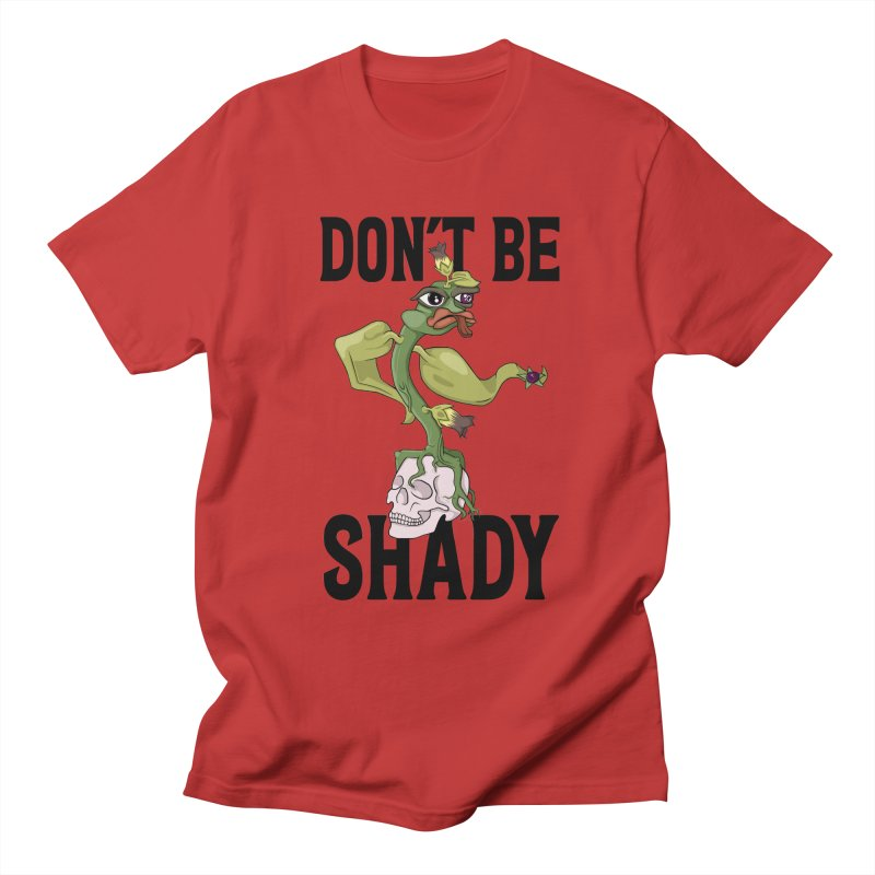 Don't Be Shady - Deadly Nightshade Men's T-Shirt by Mandragora Magika