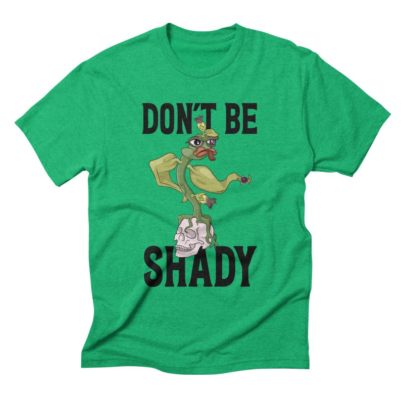 Don't Be Shady - Deadly Nightshade Men's Triblend T-Shirt by Mandragora Magika
