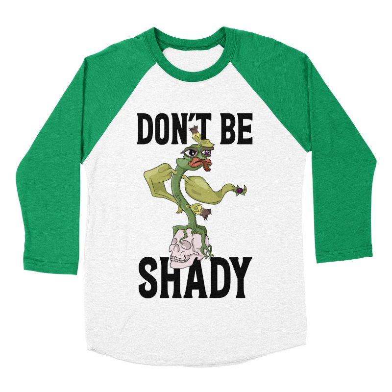 Don't Be Shady - Deadly Nightshade Women's Baseball Triblend Longsleeve T-Shirt by Mandragora Magika