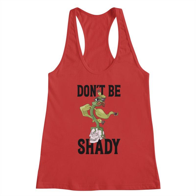 Don't Be Shady - Deadly Nightshade Women's Tank by Mandragora Magika