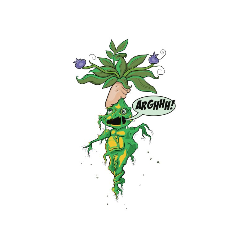 Pulling Up Mandrakes! Men's T-Shirt by Mandragora Magika