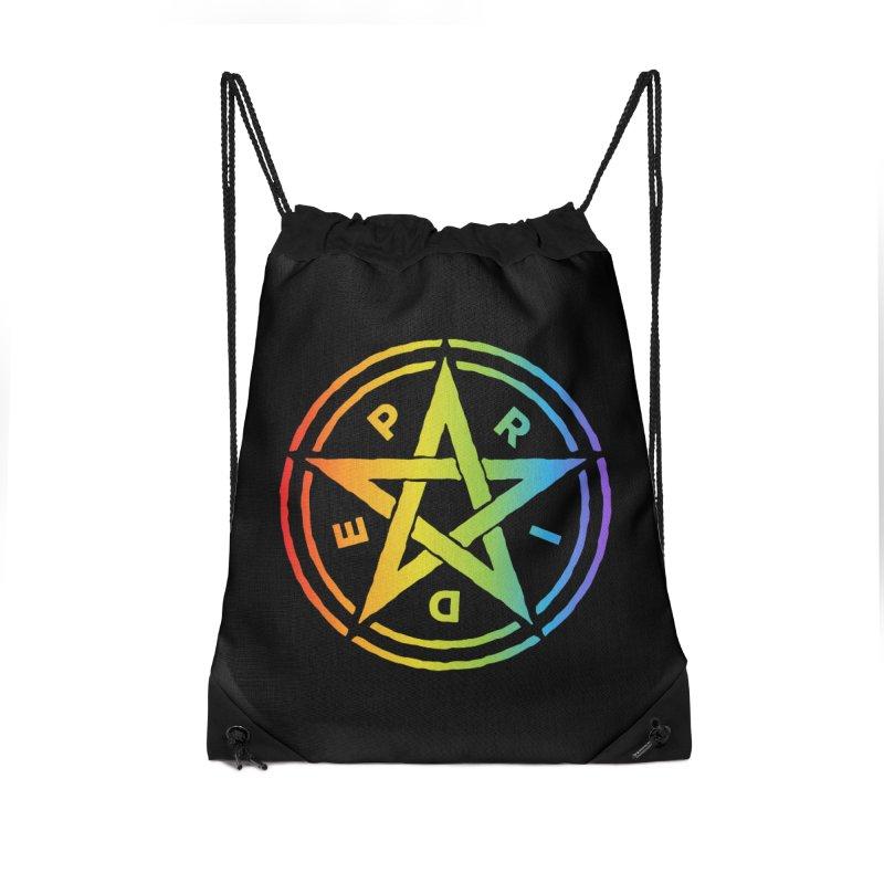 Pride Pentagram Accessories Bag by Mandragora Magika