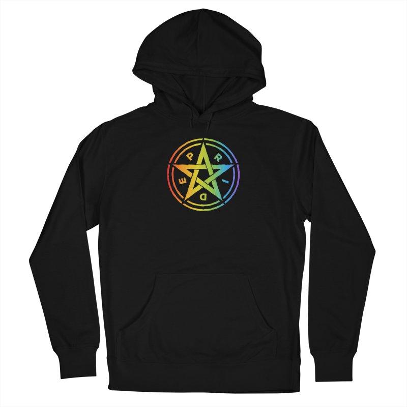 Pride Pentagram Women's Pullover Hoody by Mandragora Magika