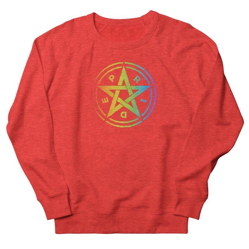 Pride Pentagram Women's Sweatshirt by Mandragora Magika