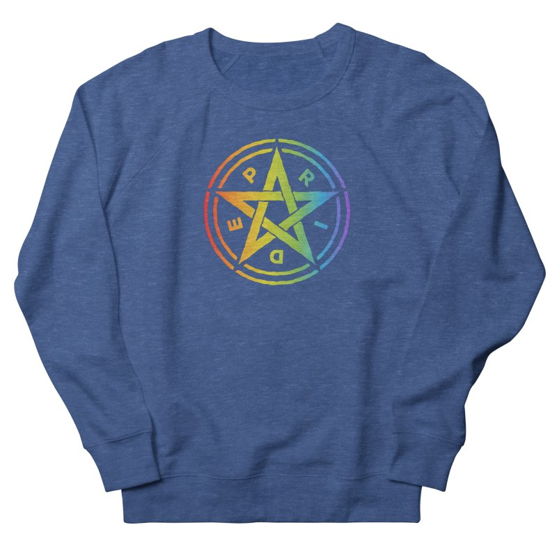 Pride Pentagram Men's Sweatshirt by Mandragora Magika