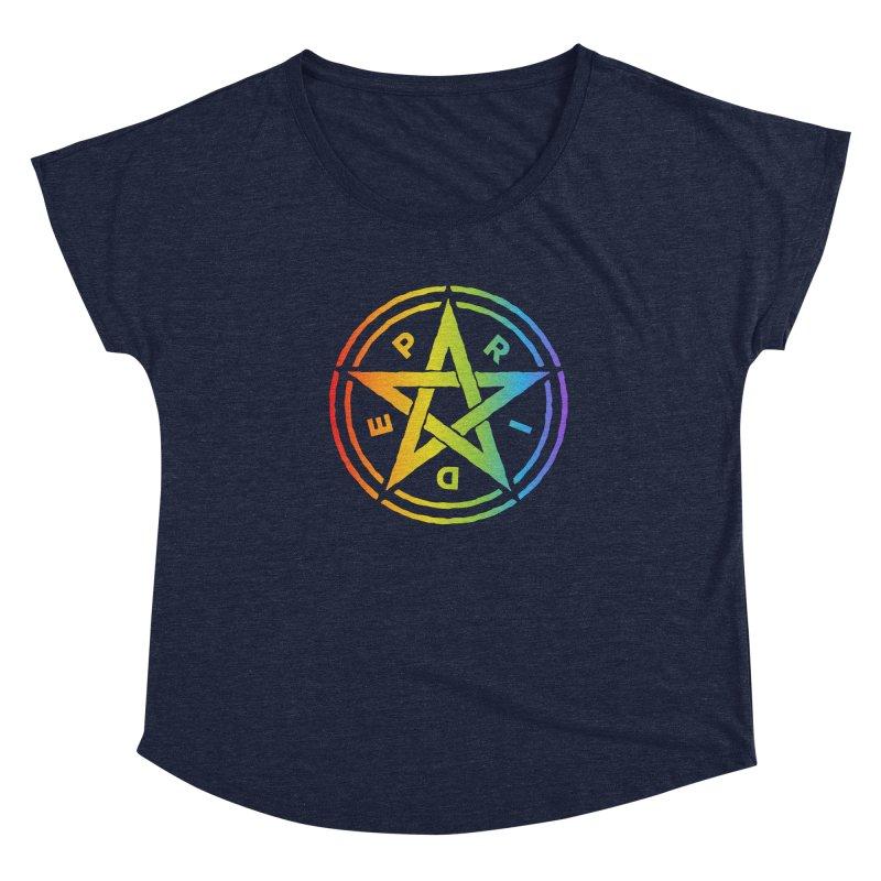 Pride Pentagram Women's Scoop Neck by Mandragora Magika