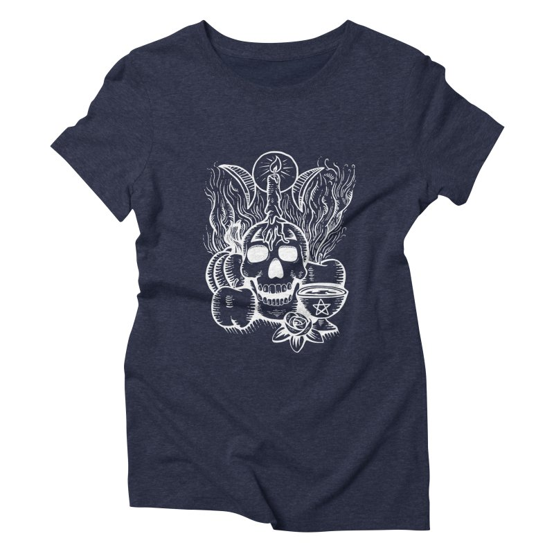 Samhain Night Women's T-Shirt by Mandragora Magika