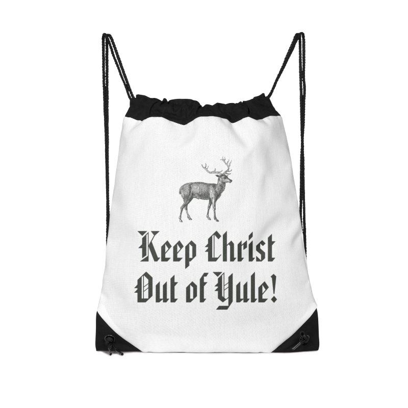 Keep Christ Out of Yule! Accessories Bag by Mandragora Magika