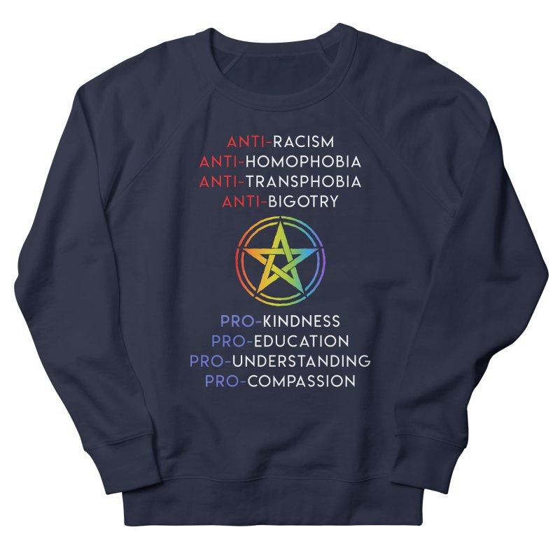 Anti/Pro Pentagram Men's Sweatshirt by Mandragora Magika