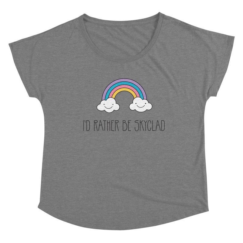 I'd Rather Be Skyclad Women's Scoop Neck by Mandragora Magika