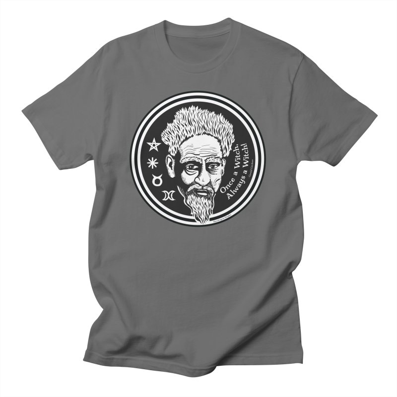 Gerald Gardner: Once A Witch, Always a Witch Men's T-Shirt by Mandragora Magika