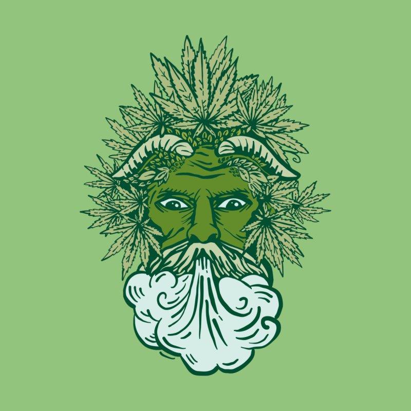 The REAL Green Man Men's T-Shirt by Mandragora Magika