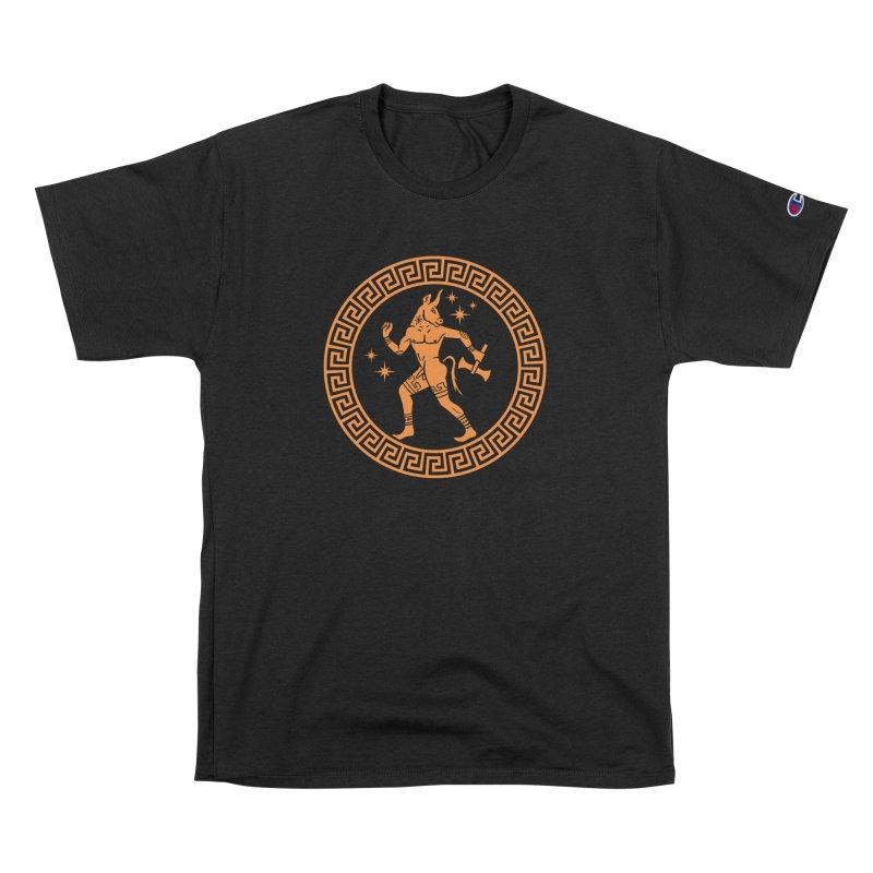 Minotaur Men's T-Shirt by Mandragora Magika