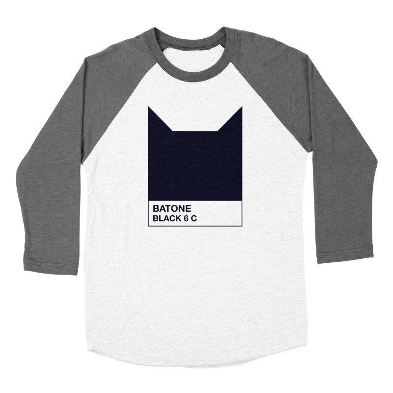 BATONE Men's Baseball Triblend T-Shirt by mandrie's Artist Shop