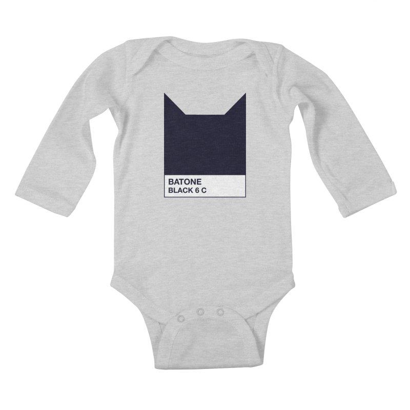 BATONE Kids Baby Longsleeve Bodysuit by mandrie's Artist Shop