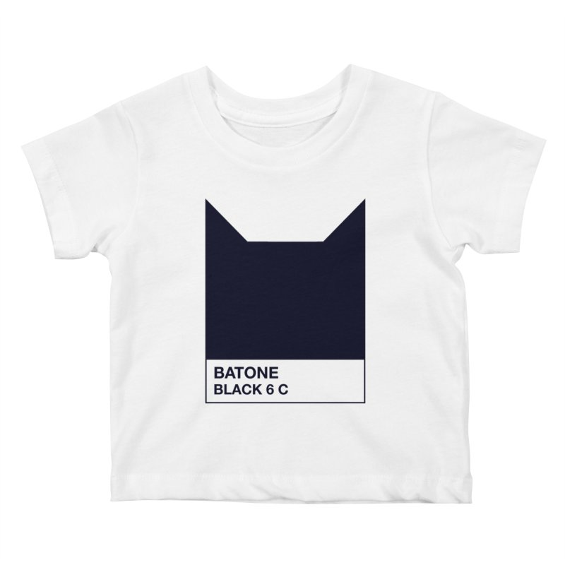 BATONE Kids Baby T-Shirt by mandrie's Artist Shop