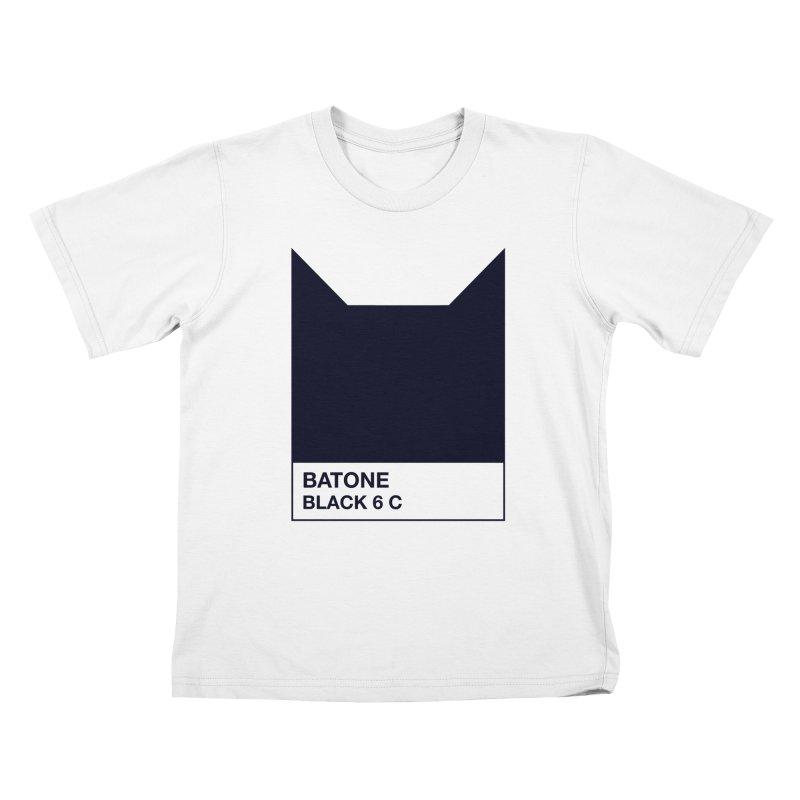 BATONE Kids T-shirt by mandrie's Artist Shop
