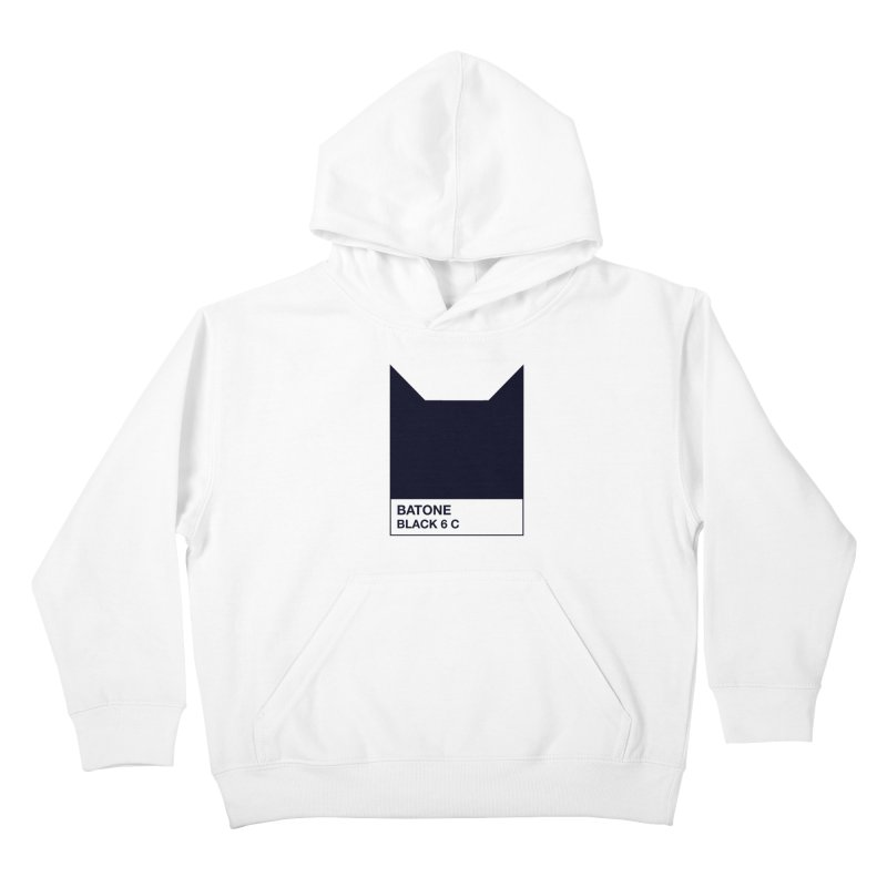 BATONE Kids Pullover Hoody by mandrie's Artist Shop