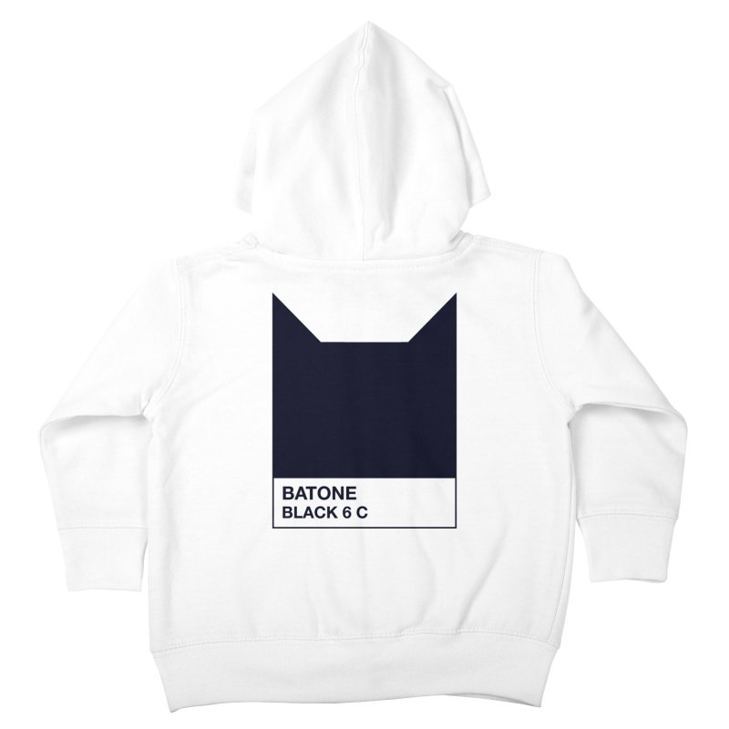 BATONE Kids Toddler Zip-Up Hoody by mandrie's Artist Shop