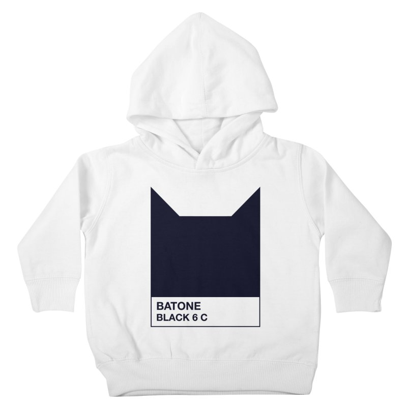 BATONE Kids Toddler Pullover Hoody by mandrie's Artist Shop