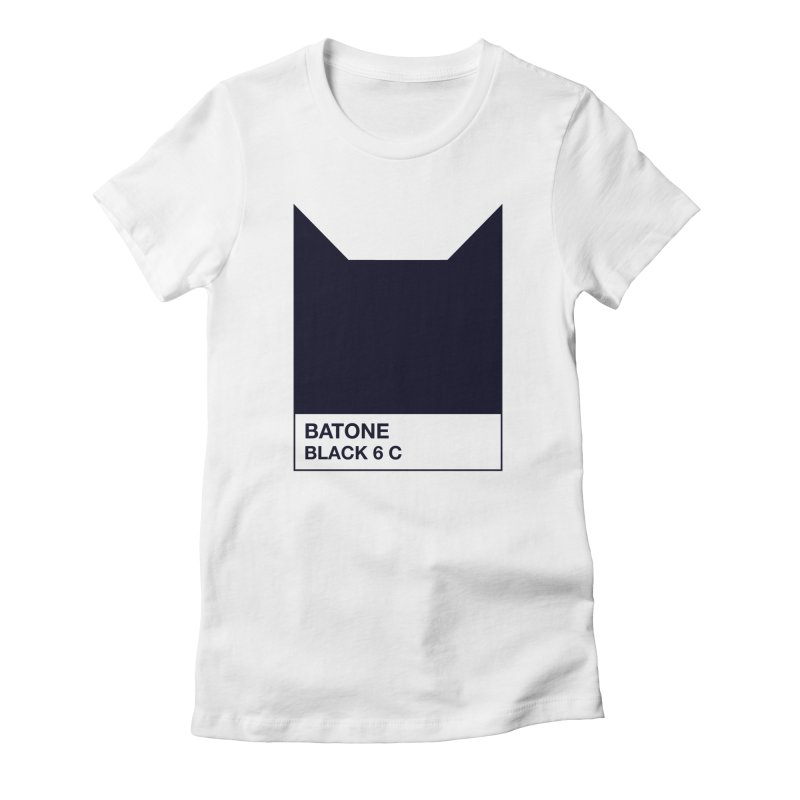 BATONE Women's Fitted T-Shirt by mandrie's Artist Shop